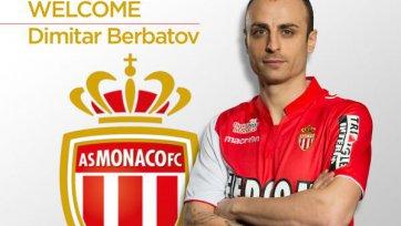 Официально: Бербатов в «Монако»