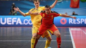 Украина играет вничью с Бельгией и выходит в плей-офф