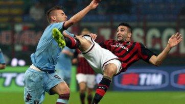 «Милан» не сумел обыграть «Торино»
