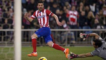«Атлетико» теряет Вилью