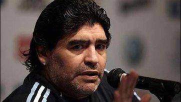 Марадона: «Арагонес был другом для футболистов»
