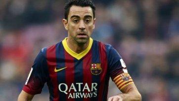 Хави: «Я никогда не хотел уходить из «Барселоны»