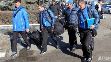 «Таврия» летит в Турцию в составе 24 футболистов