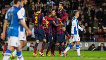 «Барселона» не испытала проблем с «Сосьедадом»