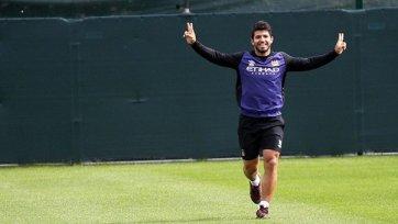Агуэро приступил к тренировкам с командой