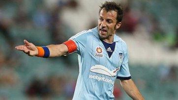 Дель Пьеро может стать играющим тренером «Сиднея»