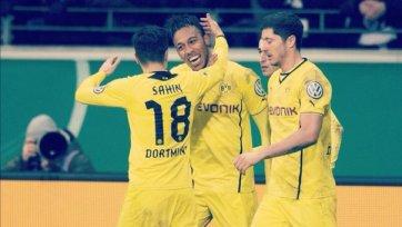 «Боруссия» Дортмунд пробилась в полуфинал Кубка Германии