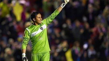 «Эвертон» и «Атлетико» поспорят за Наваса