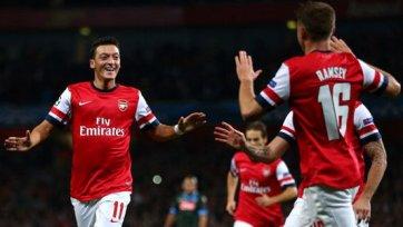Месут Озил - надежда на чемпионство «Арсенала»