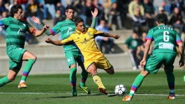 «Металлист» не испытал проблем в матче против «Леванте»