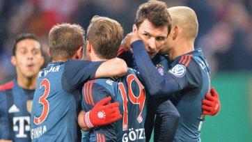 «Бавария» учинила погром «Гамбурга»