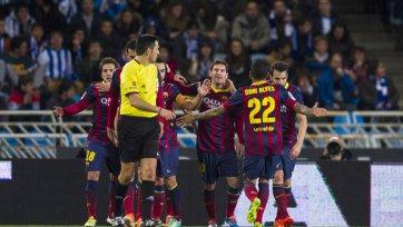 «Барса» играет вничью с «Сосьедадом» и теперь сразится в финале Кубка с «Реалом»