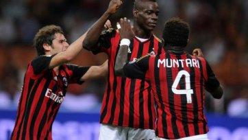 Шикарный гол Балотелли приносит «Милану» три очка