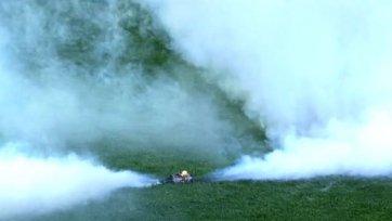 Брошенная дымовая шашка сорвала матч «Вильярреал» - «Сельта»