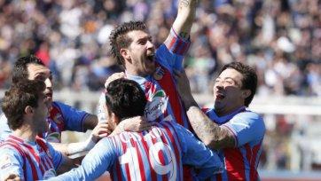 «Катанья» наносит «Лацио» первое поражение в году