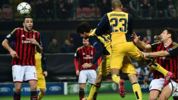 «Атлетико» увозит победу из Милана