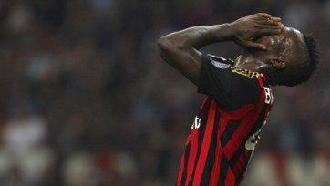 «Милан» неделю проведет без Балотелли