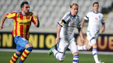 «Валенсия» одной ногой в 1/8 финала Лиги Европы