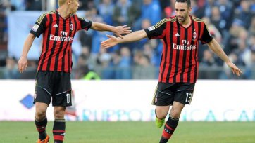 «Милан» увозит три очка из Генуи