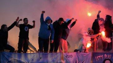 Хулиганы «Зенита» напали на фанатов «Боруссии»