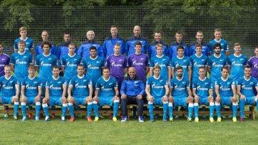 Футболисты «Зенита» ушли на каникулы