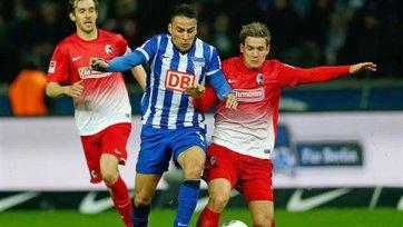 «Герта» и «Фрайбург» голов не забили