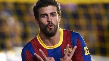 «Барселона» ведет переговоры с Пике о новом контракте