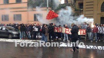 Фанаты «Ромы» обвиняют ФФИ в сотрудничестве с «Ювентусом»