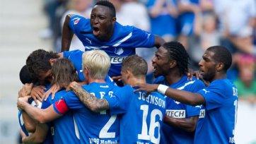 «Хоффенхайм» отгрузил «Вольфсбургу» шесть мячей