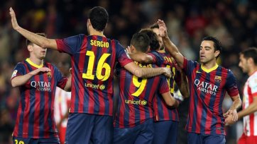 «Барселона» не заметила «Альмерию»