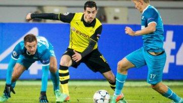 Мхитарян: «В Дортмунде «Боруссия» снова постарается обыграть «Зенит»
