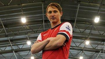 Чельстрем готовится дебютировать за «Арсенал»