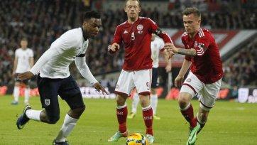 Англичане переиграли сборную Дании