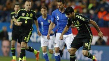 Испания вновь оставляет Италию ни с чем