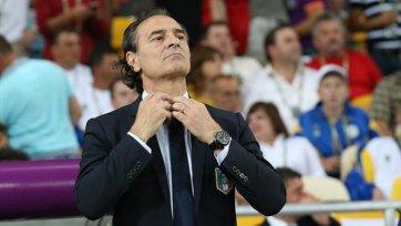 Главный тренер сборной Италии устроит смотр молодежи