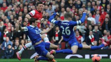 «Арсенал» разгромил «Эвертон» и вышел в полуфинал FA Cup