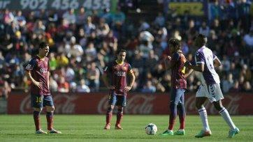 «Вальядолид» шокирует «Барселону»