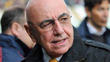 Адриано Галлиани: «Нужно дать Хонде время на адаптацию»