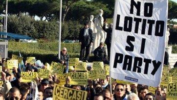 Пустой  «Стадио Олимпико». Фанаты «Лацио» Устраивают бойкот