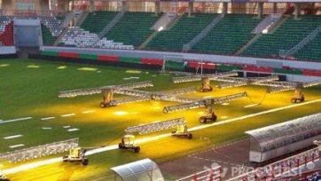 «Локомотив» не позволил руководству «Крыльев Советов» проверить качество газона