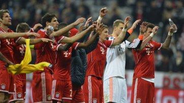 «Бавария» играет вничью с «Арсеналом» и выходит в следующую стадию