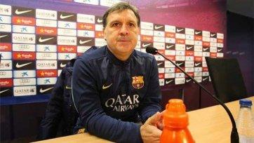 Мартино: «Старались не позволить сопернику контролировать мяч»