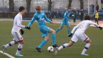 Молодежка ЦСКА взяла верх над «Зенитом»