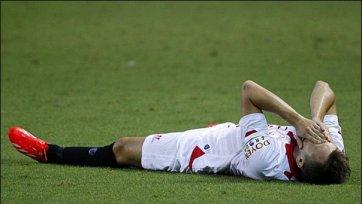 Денис Черышев угодил в лазарет с переломом ноги