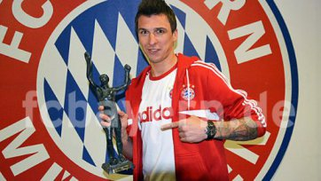 Марио Манджукич лучший игрок Хорватии