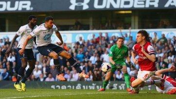 «Арсенал» в третий раз обыгрывает «Тоттенхэм»