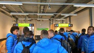 «Зенит» вылетел в Дортмунд в составе 19 футболистов