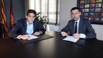 Марк Бартра продлил контракт с «Барселоной»