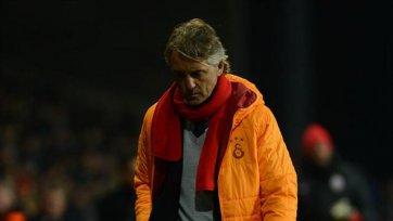 Манчини: «Команда сыграла ниже своих возможностей»