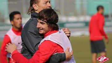 Валерий Карпин попрощался с командой
